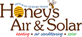 honeys air and solar logo